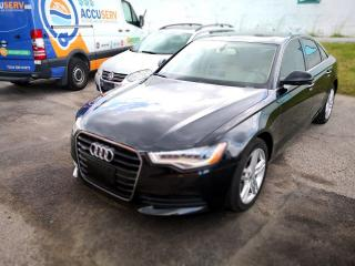 Used 2013 Audi A6 2.0T Premium! NAVI,CAMERA for sale in Scarborough, ON