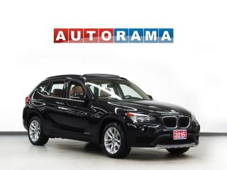 Used 2015 BMW X1 TECH PKG NAVIGATION LEATHER PAN SUNROOF 4WD for sale in North York, ON