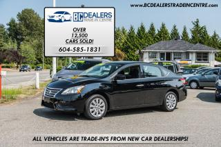 Used 2014 Nissan Sentra S, Local, No Accidents, Affordable, Bluetooth! for sale in Surrey, BC