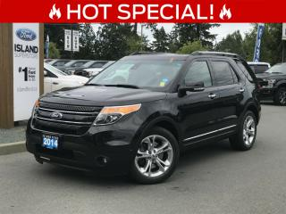 Used 2014 Ford Explorer Limited, Leather, Heated/Cooled Seats, AWD for sale in Duncan, BC