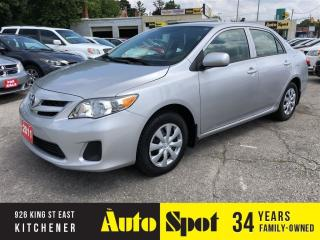 Used 2011 Toyota Corolla CE/LOW,LOW KMS/PRICED - QUICK SALE! for sale in Kitchener, ON