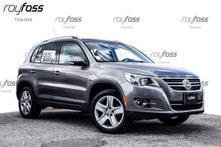 Used 2011 Volkswagen Tiguan Comfortline AWD Pano Roof Leather for sale in Thornhill, ON