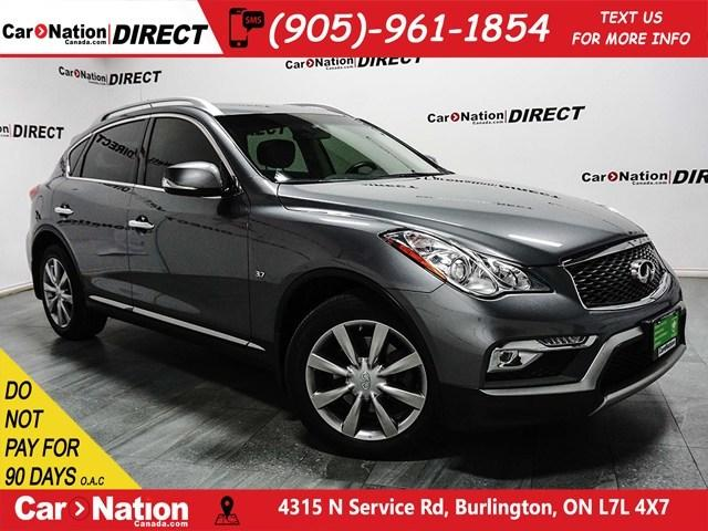 Used 2016 Infiniti Qx50 Awd Sunroof Back Up Camera Push Start