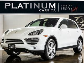 Used 2013 Porsche Cayenne AWD, NAVI, SUNROOF, HEATED LEATHER, XENON for sale in North York, ON