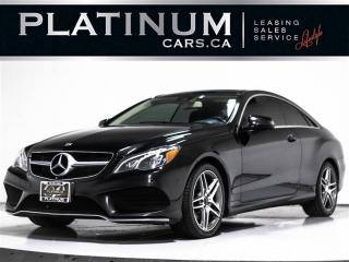 Used 2015 Mercedes-Benz E-Class E400 4MATIC COUPE, AMG SPORT, NAVI, BLINDSPOT for sale in Toronto, ON