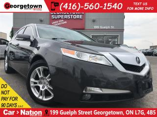 Used 2011 Acura TL AUTO | TINTS | LEATHER | SUNROOF | FOGS| HTD SEATS for sale in Georgetown, ON