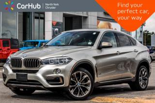 Used 2016 BMW X6 xDrive35i|Prem.Pkg|H/K Audio|Pano_Sunroof|Heat Seats|20