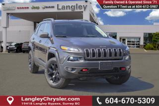 Used 2017 Jeep Cherokee Trailhawk for sale in Surrey, BC