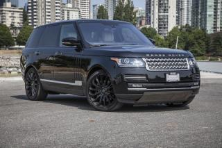 Used 2016 Land Rover Range Rover V8 Autobiography Supercharged SWB *Certified Pre-Owned! for sale in Vancouver, BC