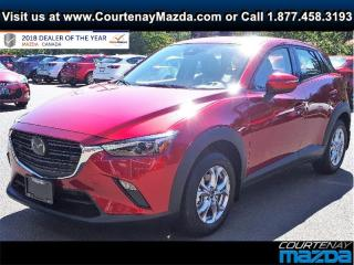 New 2019 Mazda CX-3 GS AWD at for sale in Courtenay, BC