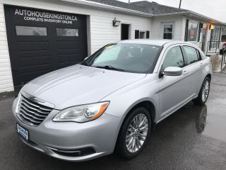 Used 2012 Chrysler 200 Touring for sale in Kingston, ON