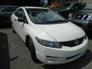 Used 2010 Honda Civic 2 portes, boîte manuelle, DX for sale in Mirabel, QC