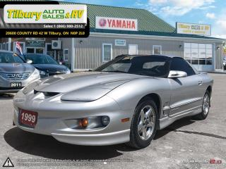Used 1999 Pontiac Firebird *Low KMs. NO Rust, stored regularly. V6* for sale in Tilbury, ON