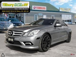 Used 2010 Mercedes-Benz E-Class E 350. V6. LEATHER. SUNROOF. AUTOMATIC. for sale in Tilbury, ON