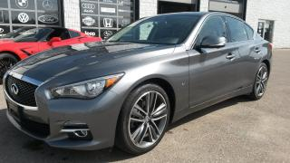 Used 2015 Infiniti Q50 LEATHER for sale in Guelph, ON