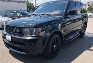 Used 2010 Land Rover Range Rover Sport SC for sale in North York, ON