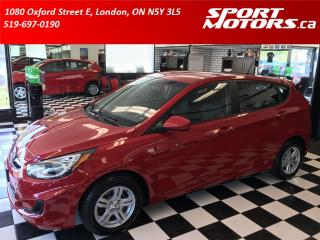 Used 2012 Hyundai Accent Hatchback+New Tires & Brakes! A/C+Cruise+ECO for sale in London, ON