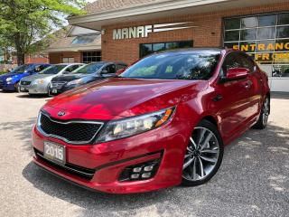 Used 2015 Kia Optima SX Turbo Panoramic Sunroof Navi Rear Cam Certified for sale in Concord, ON