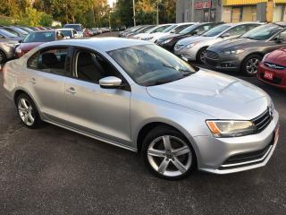 Used 2015 Volkswagen Jetta TRENDLINE+ / AUTO/ BACK UP CAM/ ALLOYS/ LOADED! for sale in Scarborough, ON