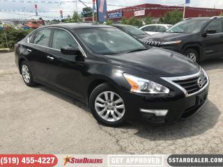 Used 2015 Nissan Altima 2.5 S   CAM   BLUETOOTH   SAT RADIO for sale in London, ON