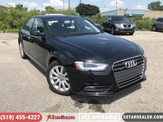 Used 2013 Audi A4 2.0T | LEATHER | ROOF | HEATED SEATS for sale in London, ON