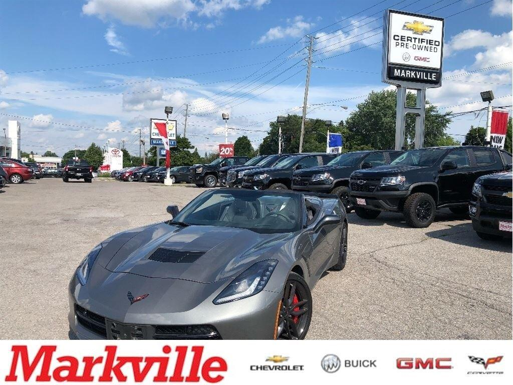 Used 2016 Chevrolet Corvette Z51 Convertifble Gm Certified