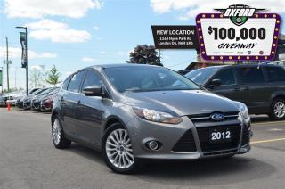 Used 2012 Ford Focus Titanium - Sunroof, Bluetooth, Back Up Cam, Touch for sale in London, ON