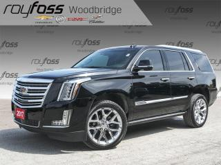 Used 2017 Cadillac Escalade PLATINUM, MASSAGE, DVD, NAV for sale in Woodbridge, ON