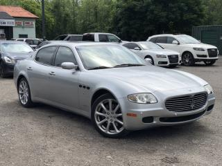 Used 2005 Maserati Quattroporte Executive Package Paddle Shifters 4.2 V8 Hand-Built Engine for sale in Newmarket, ON
