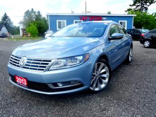 Used 2013 Volkswagen Passat CC HIGHLINE/LEATHER/ROOF/ONE OWNER/CERTIFIED for sale in Guelph, ON