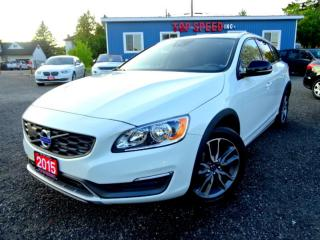 Used 2015 Volvo V60 Cross Country T5 Premier /FULLY LOADED/LOW KM'S/NAVI /SUNROOF/CERTIFIED for sale in Guelph, ON
