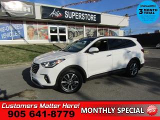 Used 2017 Hyundai Santa Fe XL Luxury  AWD NAV ROOF COOLED-SEATS LEATH HOMELINK PREM-AUDIO CAM for sale in St. Catharines, ON