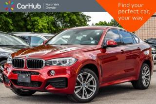 Used 2016 BMW X6 xDrive35i|Sunroof|H/K Audio|Heat Seats|Keyless_Go|Nav|20
