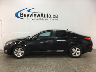 Used 2015 Kia Optima LX - ALLOYS! HTD SEATS! BLUETOOTH! CRUISE! for sale in Belleville, ON