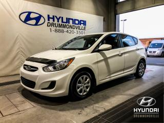 Used 2014 Hyundai Accent L 5 PORTES + GARANTIE + BAS KM + WOW ! for sale in Drummondville, QC