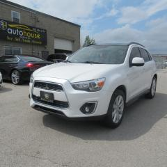 Used 2014 Mitsubishi RVR GT, 4WD, LEATHER, NAVI, MOONROOF, 4WINTER TIRES for sale in Newmarket, ON