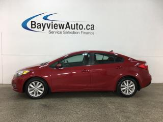 Used 2015 Kia Forte 1.8L LX - ALLOYS! HTD SEATS! A/C! BLUETOOTH! CRUISE! for sale in Belleville, ON