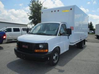 Used 2017 GMC G3500 WORK READY CARGO MOVER 2 PASSENGER 6.0L - V8.. TOW SUPPORT.. AUX INPUT.. AIR CONDITIONING.. for sale in Bradford, ON