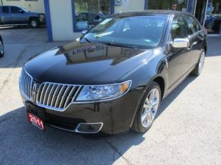 Used 2011 Lincoln MKZ LOADED ALL-WHEEL DRIVE 5 PASSENGER 3.5L - V6.. LEATHER.. HEATED/AC SEATS.. SYNC TECHNOLOGY.. POWER SUNROOF.. for sale in Bradford, ON