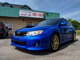 Used 2013 Subaru WRX STI Base STI SYMMETRICAL ALL WHEEL DRIVE!! for sale in Bolton, ON