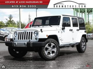 Used 2017 Jeep Wrangler Unlimited Sahara 4WD for sale in Stittsville, ON