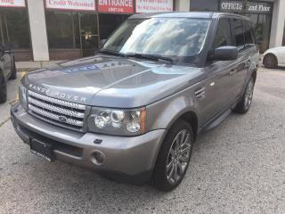 Used 2009 Land Rover Range Rover SPORT SUPERCHARGED for sale in North York, ON