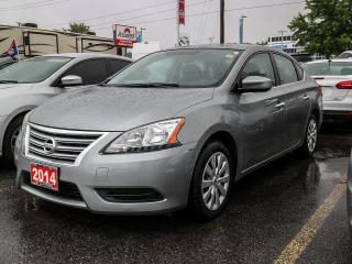 Used 2014 Nissan Sentra 1.8 S BLUETOOTH, POWER LOCKS, A/C, CD for sale in Orleans, ON