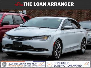 Used 2016 Chrysler 200 S for sale in Barrie, ON