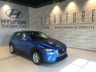 Used 2016 Mazda CX-3 GS+CAM RECUL+BANCS CHAUFF+CRUISE+MAGS for sale in Sherbrooke, QC