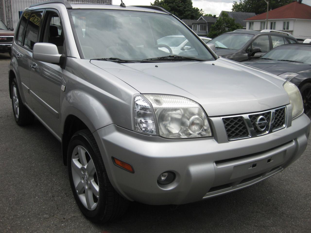 2006 Nissan X-Trail XE AWD Sunroof Auto AC Htd Seats PL PM PW Fog