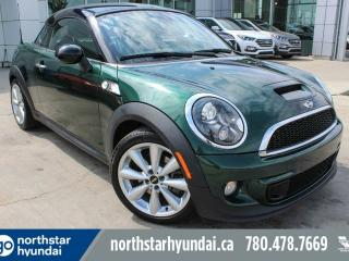 Used 2012 MINI Cooper Coupe S COUPE/LOWKM/LEATHER/HARMONAUDIO for sale in Edmonton, AB