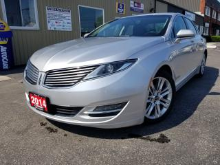 Used 2014 Lincoln MKZ PWR SUNROOF-LEATHER-1 OWNER OFF LEASE-TOUCH SCREEN for sale in Tilbury, ON