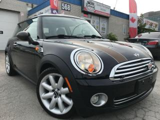 Used 2010 MINI Cooper Leather_Sunroof_Certified for sale in Oakville, ON
