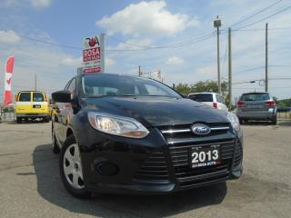 Used 2013 Ford Focus S LOW KM AUX FOLDING SEATS SAFETY AND E TEST INC for sale in Oakville, ON